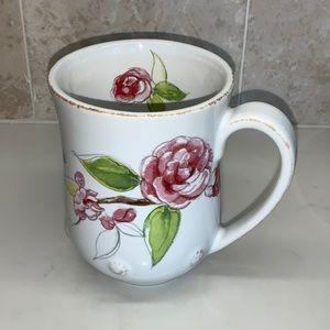 Juliska Floral Sketch Camellia Mug